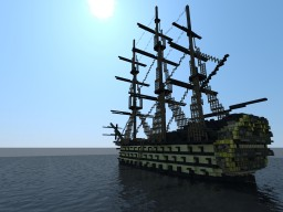 Planned 1st Rate Sailing Ship Minecraft Map & Project