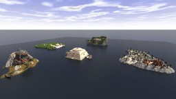 Azura's shrine archipelago Minecraft Map & Project