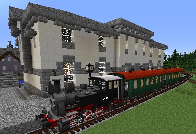 Rails of War map  (New update) Minecraft Project