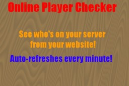 [Website] Player head list (auto refreshes!) Minecraft Mod