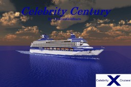 Celebrity Century 1:1 Scale Cruise Ship [+Download] Minecraft Map & Project