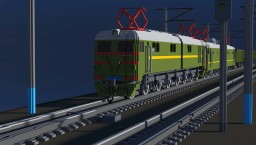 Ukrainian and Russian trains Minecraft Map & Project