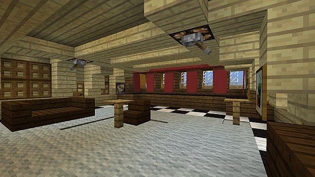 Admirals cabin