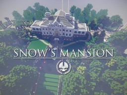 Snow's Mansion Minecraft Map & Project