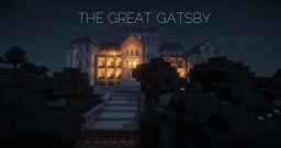 Gatsby`s Mansion | THE GREAT GATSBY Minecraft Map & Project