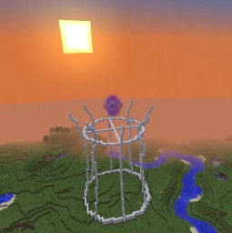 The Tower of  Shiroi Doragan Minecraft Project