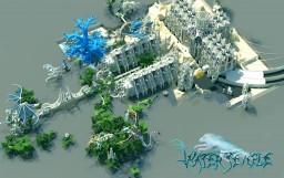 Temple of the spirit wolf One of the biggest project in minecraft -By Katariawolf [building design one-person]  *Map-Download-19.11.2016 -1.7.4-