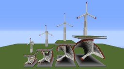 Working Wind Turbines [1.8] Minecraft