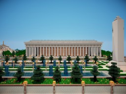 Parthenon-like Building Minecraft Map & Project