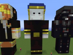 Statue of Sphax Minecraft Project