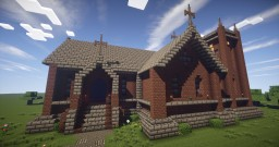 Small Victorian Church Minecraft Map & Project