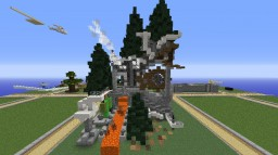 Industrial Fantasy Treehouse - Vadact BuildBattle Minecraft Map & Project