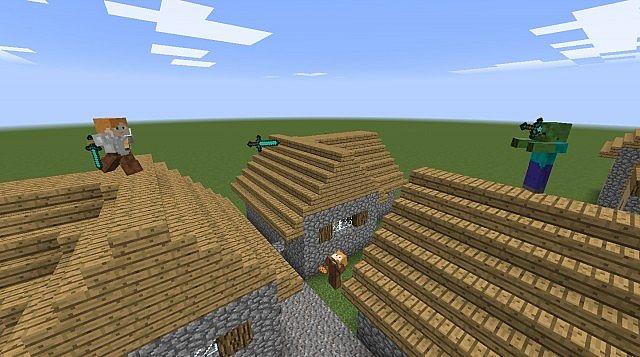 Armor Stand NPC Sculpture Village Minecraft Project