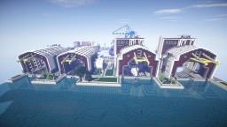 Container Port Minecraft Map & Project