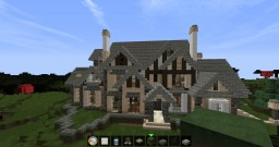 Tudor Style Mansion 2 w/ Guest House