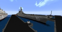 USS Missouri (1940's) Minecraft Map & Project