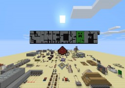 Minecraft 1.8.8- Redstone Creations- V9.11 Minecraft Map & Project