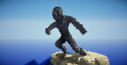 human organic statue Minecraft Map & Project