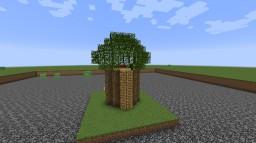 Big Tree House Minecraft Project