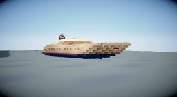 modern yacht Minecraft Map & Project