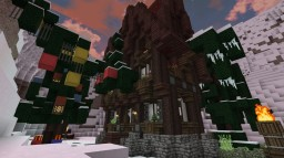 Minecraft Medieval Christmashouse by Erevayn Minecraft Map & Project