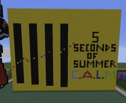 5 Seconds of Summer Minecraft Map & Project