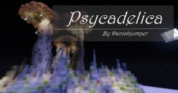 """""""Psycadelica"""" - 3 Shrooms in Crystalicland Minecraft Map & Project"""