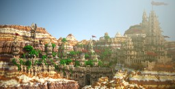 Project | Abyaneth, an oriental city Minecraft