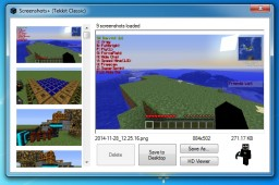 Screenshots+  (Minecraft Screenshot Manager) Minecraft Mod