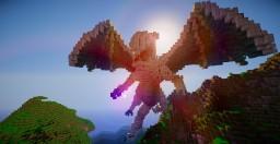Ice dragon Minecraft Map & Project