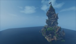 Plotbuild | The Forgotten tower of Lightmere Minecraft