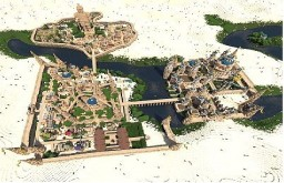 Zir'Alka, City of the Sand Minecraft Project