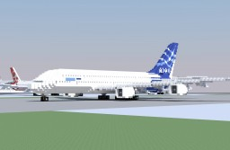 Airbus A380-800 (world collection) Minecraft Map & Project