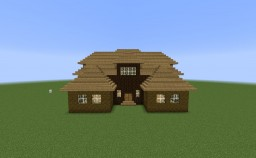Big Colonial House Minecraft Project