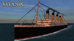 R.M.S. Titanic [Grand update] Minecraft Project
