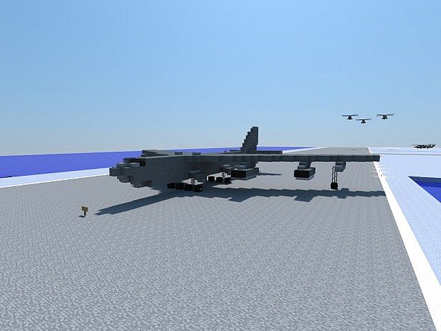 b 52 h stratofortress 1 1 scale minecraft project