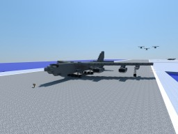 B-52 H Stratofortress 1:1 Scale Minecraft