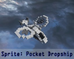 Sprite Drop-ship Minecraft Map & Project