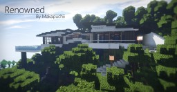 [50+ Subs Special] [Renowned] Modern Mountain House 3 Minecraft Map & Project