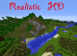 [512x512] [1.8] Realistic HD Minecraft Texture Pack