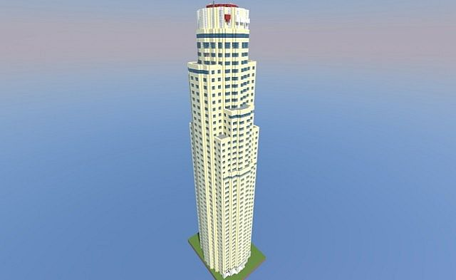 U S Bank Tower Minecraft Project