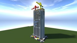 SkyScraper Construction 50-Sub thanks! Minecraft Map & Project