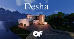 Desha - A Modern House Minecraft Map & Project