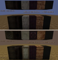 Ornate 5 Re-ressurected - Woodworker's Addon Minecraft Texture Pack