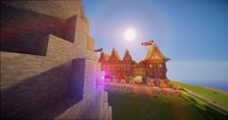 Dyatrian Train station sneak peak Minecraft Map & Project