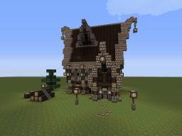 Nordic House 2.  Schematic  Minecraft