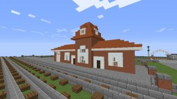 Homestead, PA Railroad Station v. 2 Minecraft Map & Project