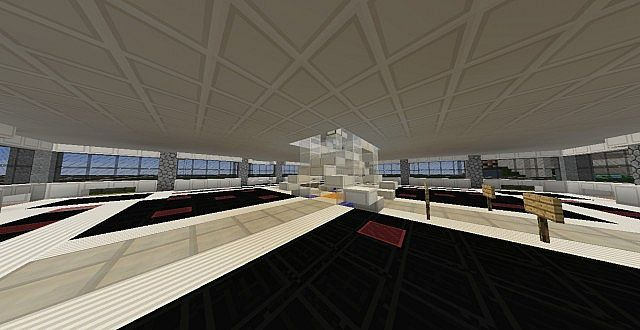 A Spire Skyscraper Minecraft Project