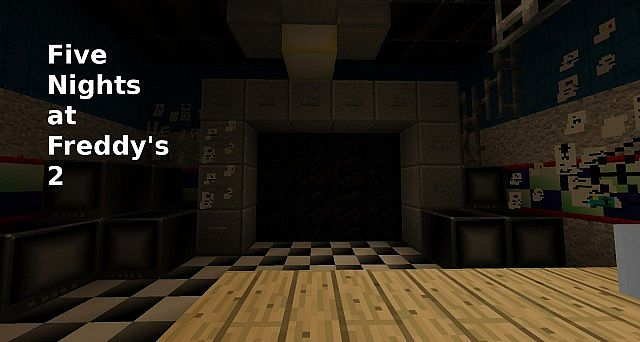 Five Nights at Freddy's 2 map! Minecraft Project