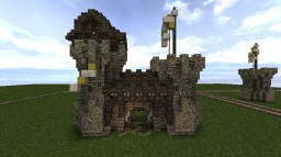 Medieval Gatehouse Minecraft